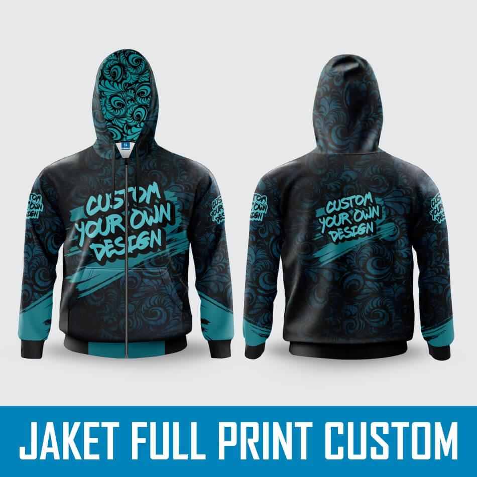 Bikin Jaket Full Print Custom Satuan