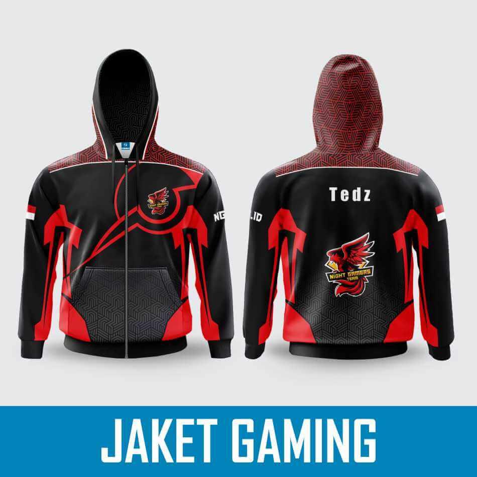 Bikin Jaket Gaming Esport