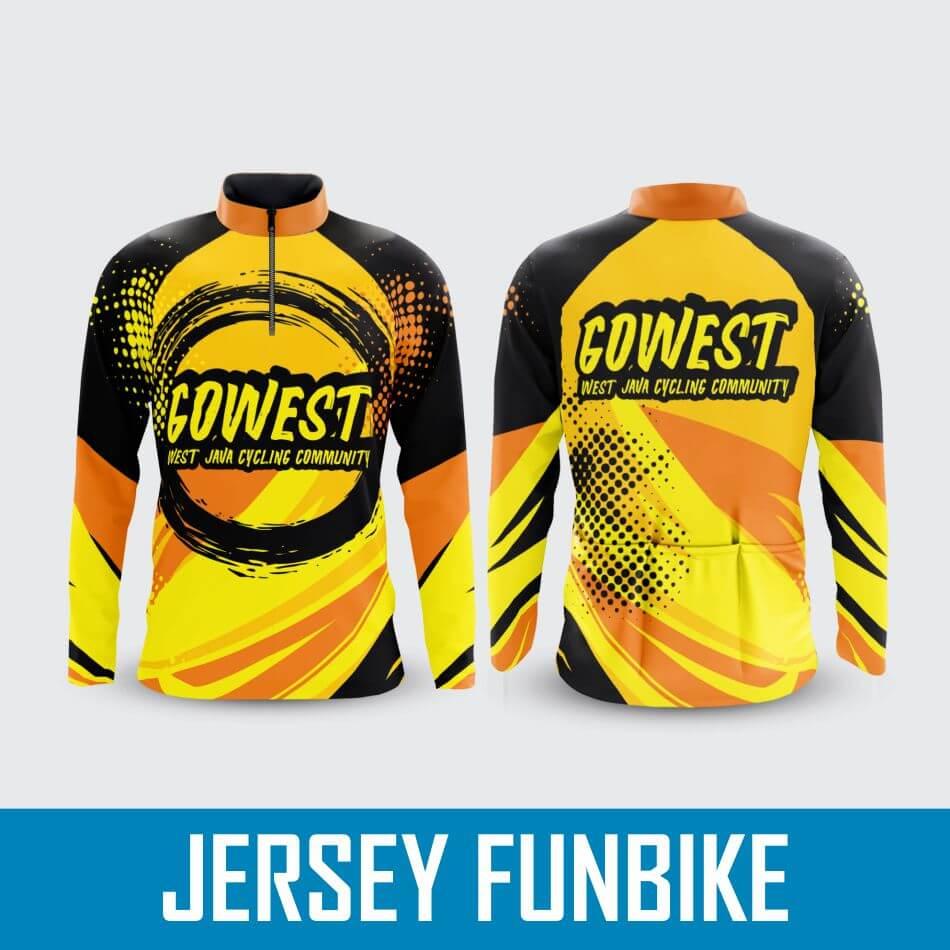 Bikin Jersey Funbike Gowes