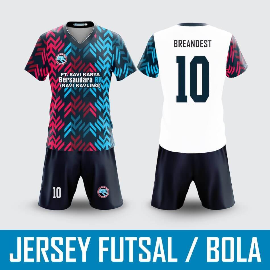 Bikin Jersey Futsal Bola